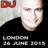 Danny Tenaglia - Live @ DJ Mag HQ London - 2015.06.26