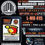 Da Maddhouze sits down with L-Mo 415 on K.P.O.O 89.5 FM