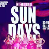 INTERNATIONAL SUNDAYS OCT.7.2018 MUSIC BY EXCESS GLOBAL SOUND