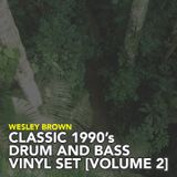 Wesley Brown - Classic 1990s Drum and Bass Vinyl Mix Volume 2