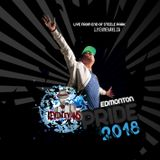 DJ Kevin Evans @ Edmonton Pride 2018