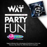 "Da Sylva mashup ""Nanana Hey Wish You Well"" Supported by Alex Wat on Fun Radio"