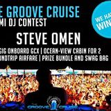 Winning Entry for Groove Cruise Miami 2014 10YR Anniversary