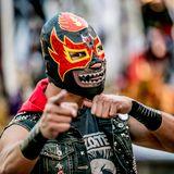 Black Terror, el licenciado en Lucha Libre