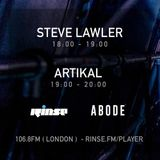 Steve Lawler - Guest Mix on ABODE Takeover, Rinse 106.8FM, London (19-08-2017)