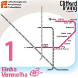 Lisboa Metro Part 1. Vermelha