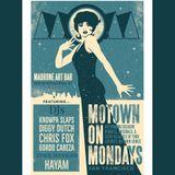 Live @ Motown on Mondays c/o Madrone Art Bar 11/5/18