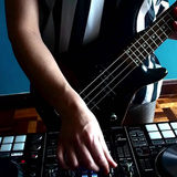 Funky Disco Dance with my bass