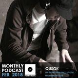 Funkymusic Monthly Podcast, Feb. 2018 - Dj Qusok (Freestyle live set @ Wrong Bar 20.01.18)