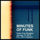 Minutes of Funk [Jan 12, 2016] - Erin_FM in Session