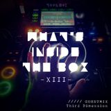 -Vol. XIII- GUESTMIX: What's inside the Box? (April 2018) ft. Third Dimension