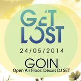 """Dexxis - Get Lost """"Open Air Floor"""" - GoIn Obergünzburg, 24.05.2014 (21:00 - 23:00 Uhr)"""