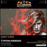 CYNTHIA KRDENAS_BeachGrooves_DeepVibes #1 (27-3-2017)