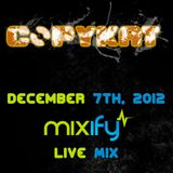 Mixify Live Mix, December 7th 2012