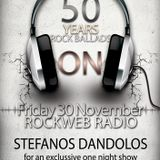 50 Years Rock Ballads on Rockweb Radio by Stefanos Dandolos