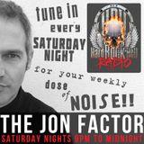 Hard Rock Hell Radio - The Jon Factor 180 - September 2017