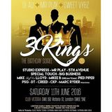 3 Kings Birthday - June 2016 - Mikee B, CKP, MC Creed, MC DT & Pied Piper @ Q Club, Victoria