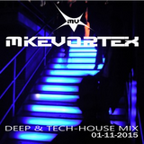 MIKE VORTEX Deep & Tech-House Mix 01/11/2015