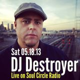 SCR Presents DJ Destroyer