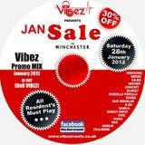 Vibez Promo Mix January 2011 - DJ Noz  - DnB Vibez
