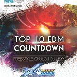 Top 10 EDM Countdown with Freestyle Chulo & DJ Lexx 3-22-16