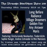The Strange Boutique Show 259