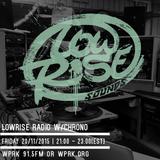 LowRise Radio w/Chrono 20/11/2015