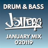 Jotters January 2019 mix - drum and bass