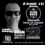 FLASHBACK 90s Radio Show 18.6.2016 @SalaCOSMOS SERGIO ROSALES #INSESION FLASHBACK 90s 2º Aniversario