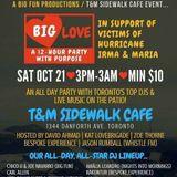 Block Party #214 Chico U and Enza Ruscillo Hurricane Relief Event