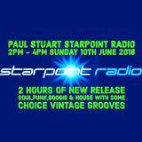 Paul Stuart - Starpoint Radio -  Sunday 10th June 2018