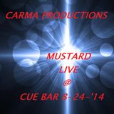 Carma Productions Live @ Cue Bar - 24 August 2014