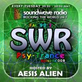 SWR Psy-Trance FM - hosted by Aesis Alien - Episode 008