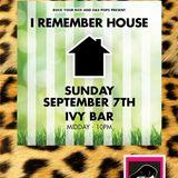 I Remember House (Extended Version)