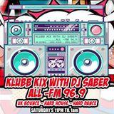 Klubb Kix-DJ SABER-ALLFM96.9-Show035 04-03-2017 - DJ X-ite Guest Mix (Italian Dance Classics)