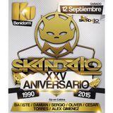 Dj Alex Gimenez 25 Aniversario Skandalo 12 9 2015 Remember 99 03