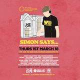 Simon Says... Specal Guest Mix by Nu:Logic