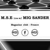Mig Sander Live @ Magazine club