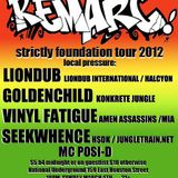 Live @ Strictly Foundation with Seekwhence, Vinyl Fatigue, Remarc and LIONDUB - 2012