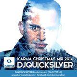 Karma Christmas Mix 2014- DJ Quicksilver