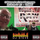 The Real DJ Steve: LIVE from the Cybermix Lounge | Part 1 ~ 100BPM | 2018-06-19