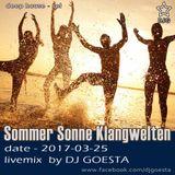 DJ Goesta - Sommer Sonne Klangwelten (DeepHouse Mix 2017-03)