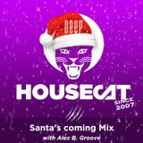 Deep House Cat Show - Santa's coming Mix - with Alex B. Groove // incl. free DL
