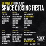 Uto Karem - Live @ Closing Fiesta Space Ibiza (Spain) 2013.10.06.