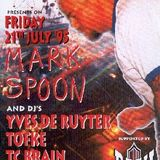 "Mark Spoon (part 2) at ""Solar Plexus"" @ Cherry Moon (Lokeren - Belgium) - 21 July 1995"
