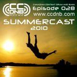 CCDNB 028 Summercast 2010
