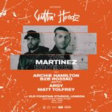 The Martinez Brothers @ Cuttin' Headz x Old Fountain Studios [London, UK] 06.05.2018