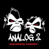Analog 2 Special - B2B with DJ Concept Pointblank.fm