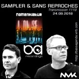 "RADIO S&SR Transmission n°1119 -- 24.09.2018 (Top Of The Week ""NOMENKLATÜR"")"