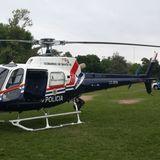 AYER ANTES DEL OPERATIVO POLICIAL #FLBeltran #CBermudez La nave de la Brigada Aérea Policial